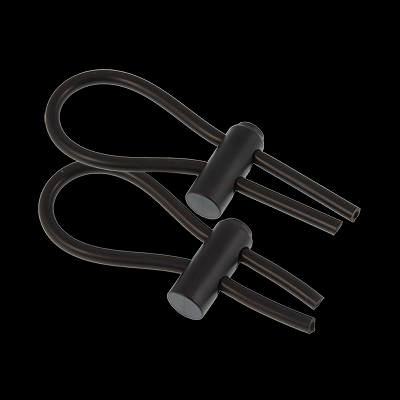 4mm Conductive Rubber Loops