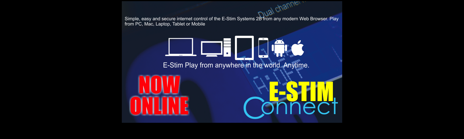 E-Stim Connect - E-Stim play across the web